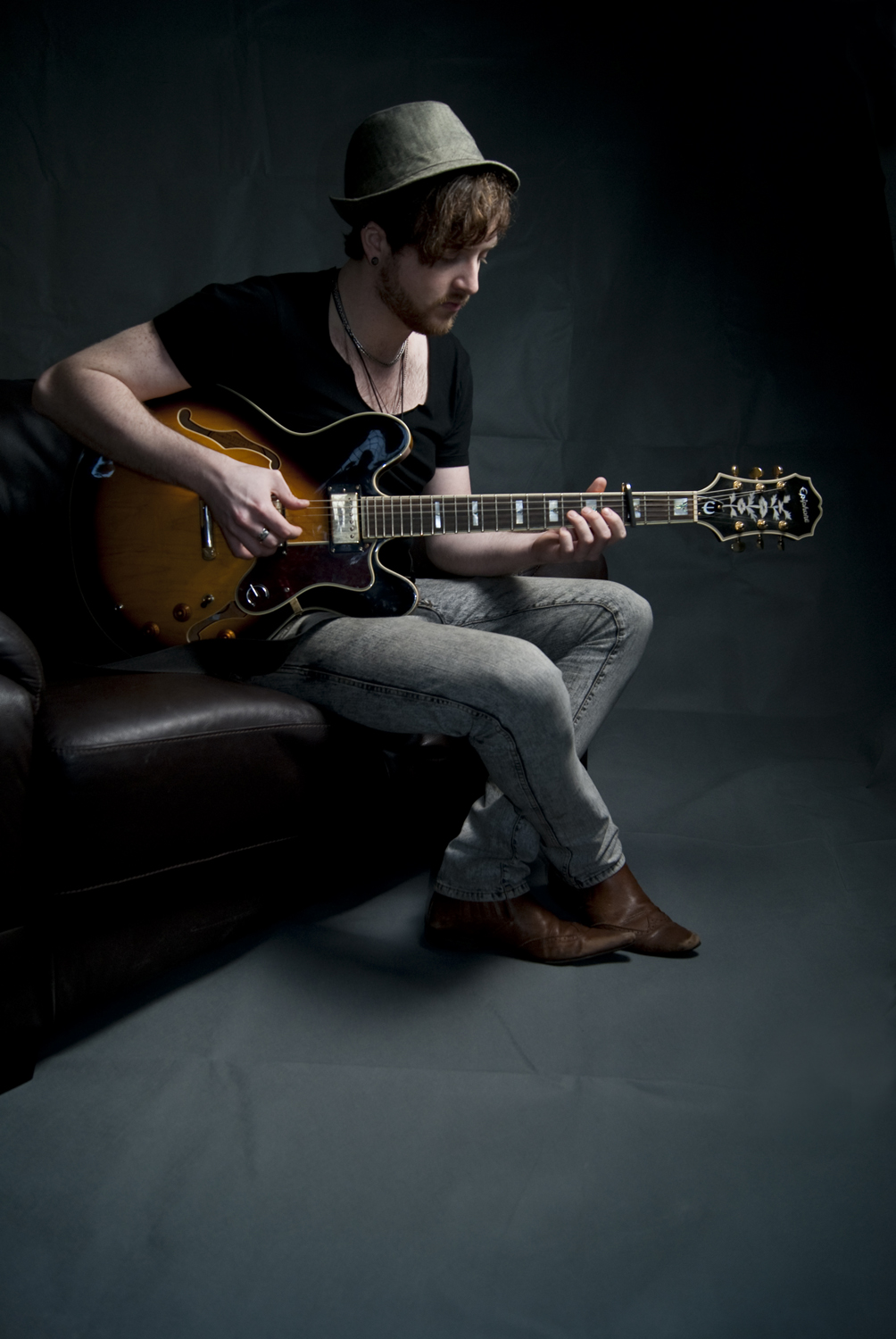 Lewis - freelance musician - Portrait photography in portslade, Hove and Bright, Sussex